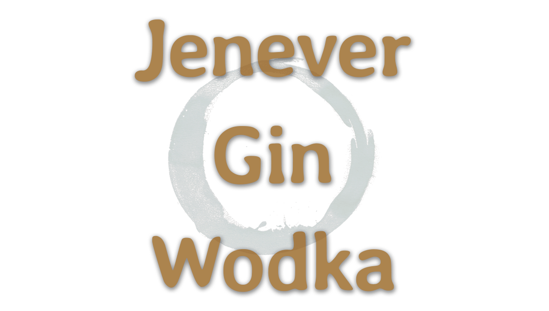 Jenever Gin Wodka